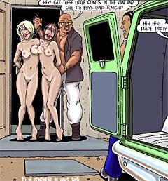 Hines, Zerns, Thorn, De haro, Roberts, Giselle comics